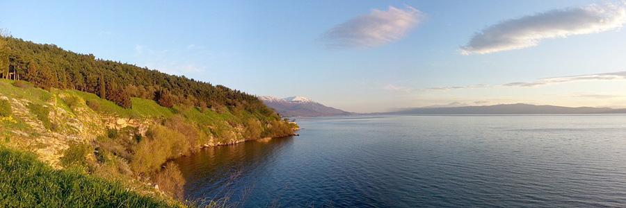 Полуостров на Охридском озере
