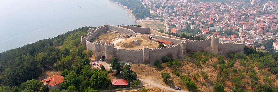 Самуилова крепость в Охриде