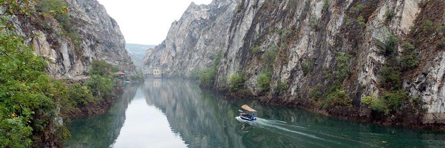 Каньон Матка. 20 км от г.Скопье