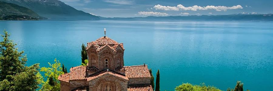 Античная церковь Св.Иоана Канео. Охрид